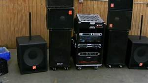 Crown-ev-jbl Pa System  Effects And Monitors