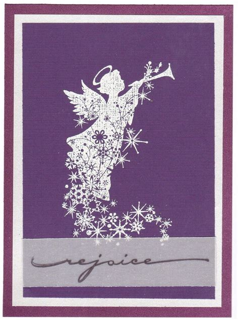 rejoice angel simple christmas cards xmas cards