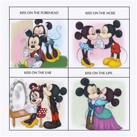 Cute Disney Memes - kiss meme minnie and mickey by tell me lies on deviantart