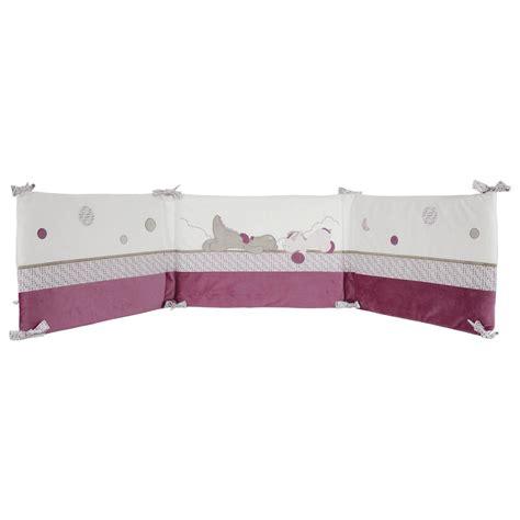 et tour de lit violet de noukies tours de lit aubert
