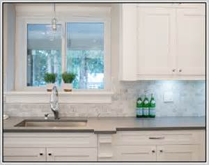 carrara marble subway tile kitchen backsplash home design ideas