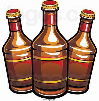 Beer Clip Bottle Clipart Cartoon Bottles Root