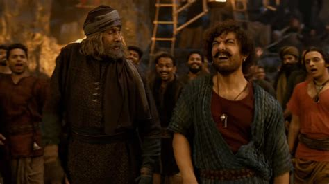 How Amitabh Bachchan And Aamir Khan Just Went With The Flow For 'vashmalle