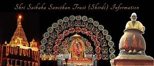 About the Trust... Shirdi Sansthan