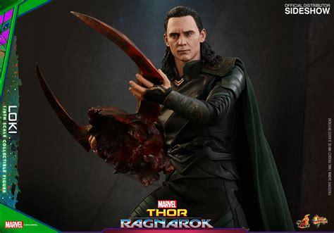 marvel thor ragnarok loki  scale figure hot toys