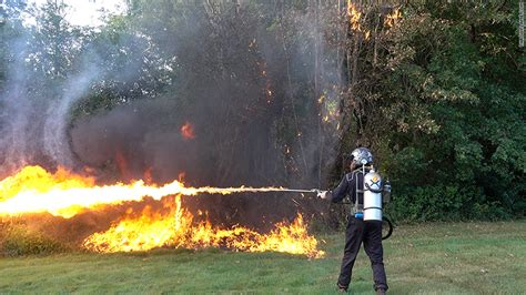 Flamethrowers, Given Up By Military, Are Now Being Sold To
