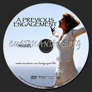 A Previous Engagement dvd label - DVD Covers & Labels by ...