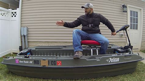 Academy Sports Jon Boats by The Pelican Bass 10e Review My Mini Bass Boat