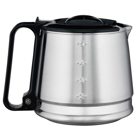 Alibaba.com offers 2,263 coffee makers stainless carafe products. Hamilton Beach 88087C Stainless Steel 4 Cup Replacement Carafe for HDC Series Coffee Makers