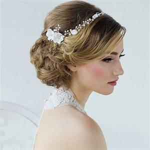 Floral Bridal Headpiece Annaleise Zaphira Bridal