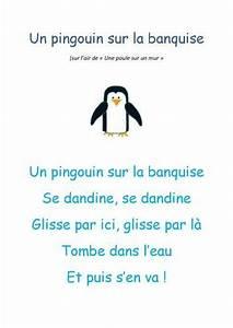 Pingouin Sur La Banquise : les 105 meilleures images du tableau ecole poesie sur pinterest chansons comptines comptines ~ Melissatoandfro.com Idées de Décoration