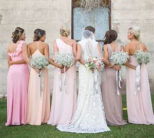 long pastel bridesmaid dresses southbound bride With pastel color dress for wedding