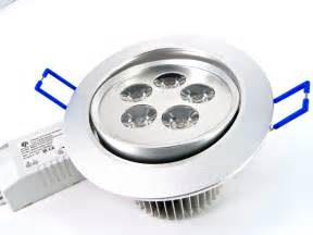 Dimmable Cabinet Lighting by 5w High Power Directional Recess Led Downlight Recessed