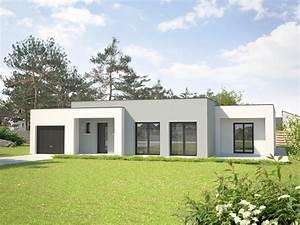 dossier charpente la charpente pour toit plat 2 3 ma With lovely maison toit plat en l 10 photo de maison provencale contemporaine toit plat