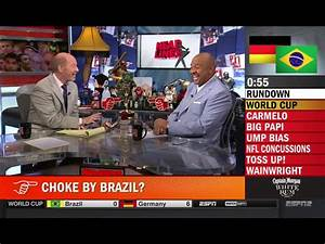 'Pardon the Interruption' Screen Grab for July 8, 2014 ...