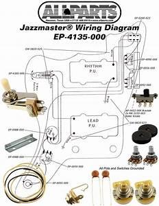 Wiring Kit For Jazzmaster