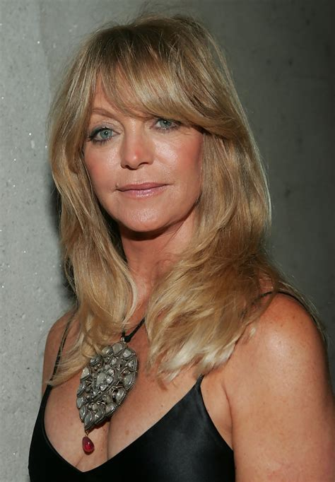 Goldie Hawn's Golden Tresses  Haute Hairstyles For Women Over 50 Stylebistro