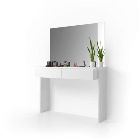 Schminktisch Modern Mit Spiegel by Schminktisch Mit Spiegel Quot Azur Quot Wei 223 Mit Led Beleuchtung