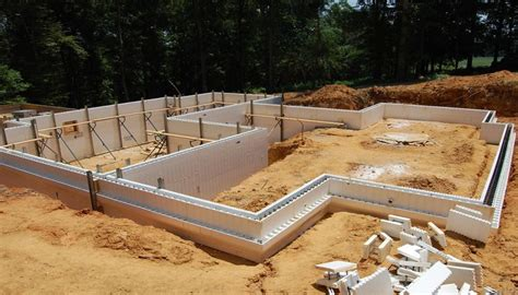 house plans with finished basement icf foundation pros and cons