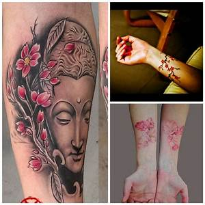 Tatouage Avant Bras Femme Fleur : un air de printemps japonais avec un tatouage de fleurs de cerisier envince ~ Farleysfitness.com Idées de Décoration