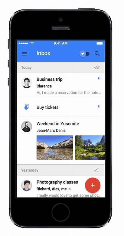 Inbox Gmail Google Email App Mobile Phone
