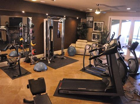 Simple dining rooms, home gym design ideas home fitness