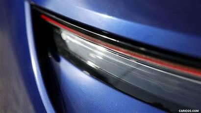 Taycan Porsche Turbo Gentian Tail Metallic