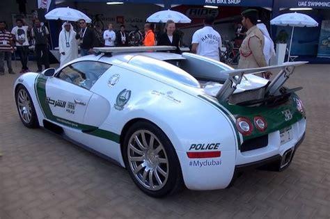 Dubai Police Adds Bugatti Veyron To Their Lineup Of Exotic