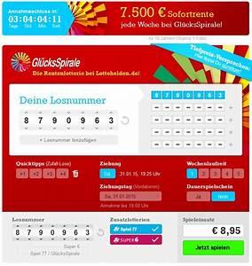 Sofortrente Berechnen : gl cksspirale zahlen gewinnzahlen und quoten vom samstag ~ Themetempest.com Abrechnung