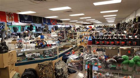 army surplus stores