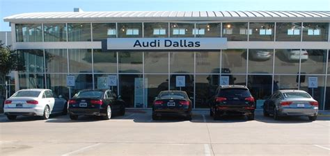 Audi Dallas big at audi dallas and goodson acura