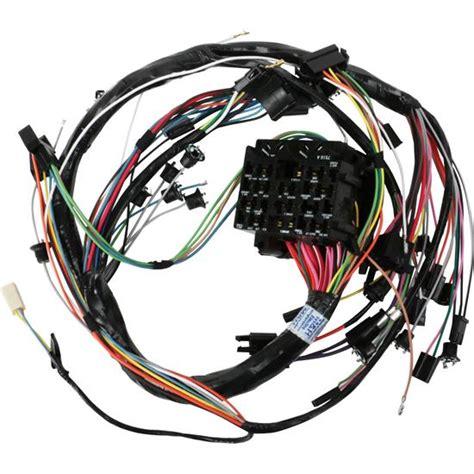 Dash Wiring Harnes by M H Electric 39045 Dash Wiring Harness 1968 Gm A W