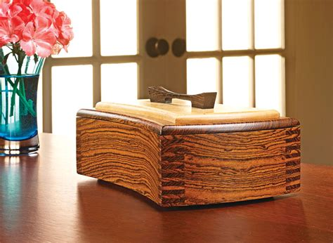 decorative keepsake box woodworking project woodsmith
