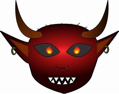 Clipart Evil Mouth Demon Transparent Diritto Recesso