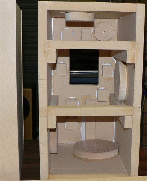 Lifier Cabinet Design by Fostex Fe127e Diy Bass Reflex Bookshelf Speakers
