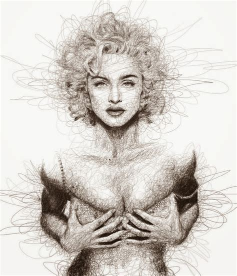 Scribbling Portraits By Vince Low  Incredible Snaps