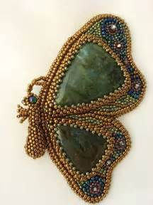Butterfly Bead Embroidery