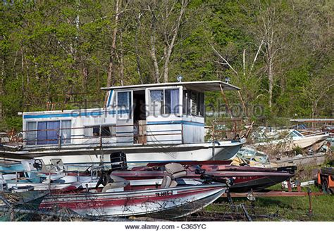 Boat Salvage Tennessee by Junkyard America Stock Photos Junkyard America Stock