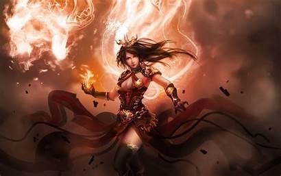 Warrior Crown Queen Fantasy Wallpapers Woman Background
