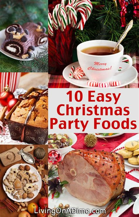 christmas dinner food ideas 10 easy christmas party food ideas and easy recipes easy party food food ideas and dinner table