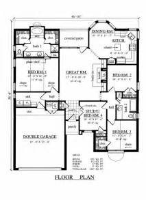 4 bedroom 2 bath floor plans 1701 square 4 bedrooms 2 batrooms 2 parking space on 1 levels house plan 5093 all