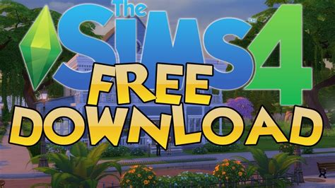 How To Download The Sims 4 For Free On Pc! Youtube