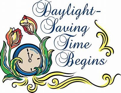 Daylight Savings Begins March Word Fall Spring