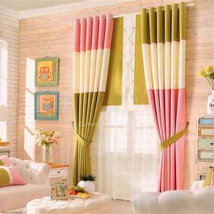 Fresh multi color splicing design bedroom window curtain for Curtains design for bedroom 2016