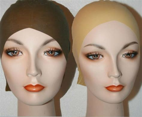 Bald Skin Head Cap Latex Theater Mask Life Casting Wig