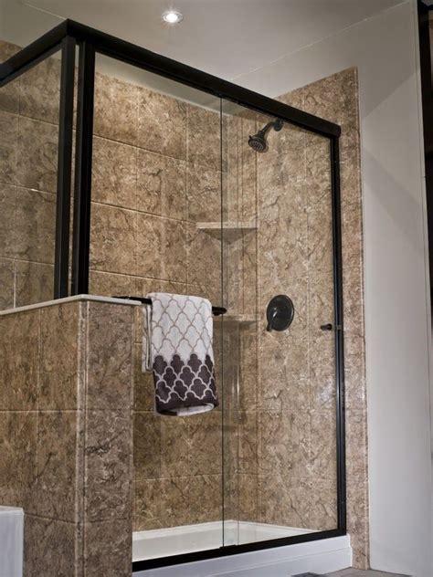 turn  bathtub   spacious walk  shower
