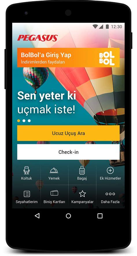 pegasus mobil u 231 ak bileti mobil uygulaması 220 cretsiz indir ios ve