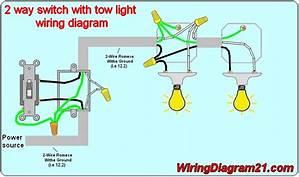 Schematic Wiring Diagram 2 Lights 41339 Enotecaombrerosse It