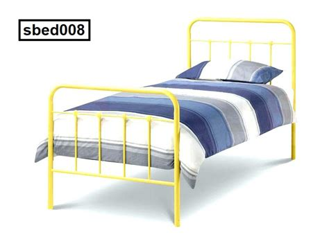 Affordable Single Beds by Single Steel Bed 008 Smmbdstore