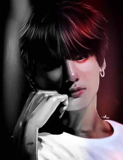 jungkook anime art jungkook fanart from bts by pngfanart on deviantart